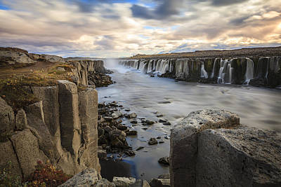 Travel - Selfoss waterfall by Alexey Stiop