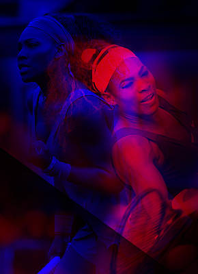 Serena Williams Photograph - Serena Williams by Srdjan Petrovic
