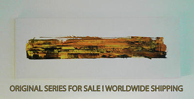 Painting - Series Abstract Worlds Only Originals For Sale Worldwide Shipping by Sir Josef - Social Critic -  Maha Art