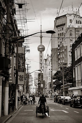 Photograph - Shanghai  by Songquan Deng