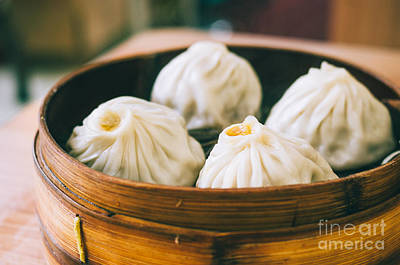 Staff Picks Judy Bernier Rights Managed Images - Shanghai Soup Dumplings Royalty-Free Image by Tuimages