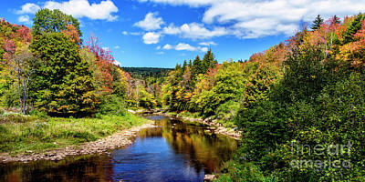 West Fork Photograph - Shavers Fork Of Cheat River by Thomas R Fletcher