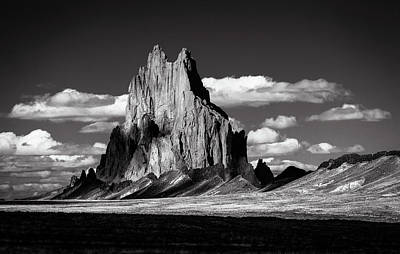 Aromatherapy Oils - Shiprock New Mexico 13 by Mike Penney