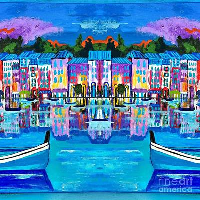 Shores Of Italy Original by Scott D Van Osdol