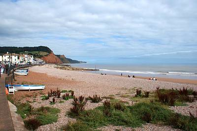 Photograph - Sidmouth by Chris Day
