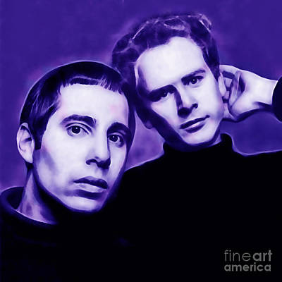 Simon And Garfunkel Art Print