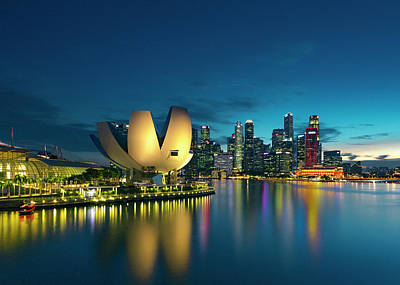 Photograph - Singapore by Evgeny Vasenev