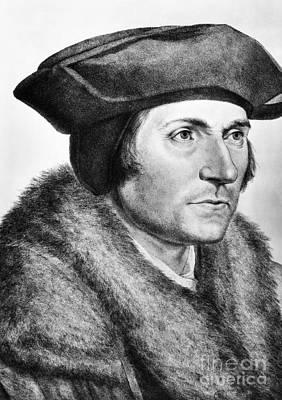 Sir Thomas More (1478-1535) Art Print by Granger