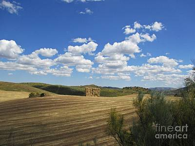 Photograph - Sky And Countryside Near Olvera by Chani Demuijlder