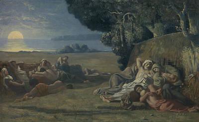 Painting - Sleep by Pierre Puvis de Chavannes