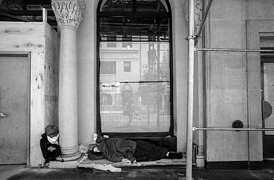 Photograph - Sleeping Rough by Robert Ullmann