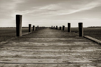 Sol Photograph - Sol Legare Dock by Dustin K Ryan