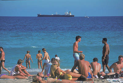 Photograph - Spring Break In Fort Lauderdale 2 by Carl Purcell