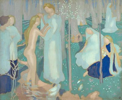 Painting - Springtime by Maurice Denis