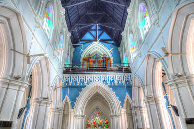 Photograph - St Andrews Cathedral Singapore by David Pyatt