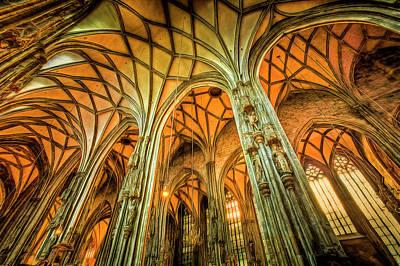 Impressionism Photos - St Stephens Cathedral Vienna Art by David Pyatt