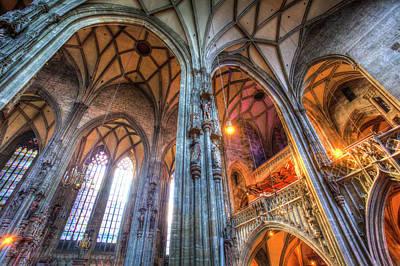 Photograph - St Stephens Cathedral Vienna by David Pyatt