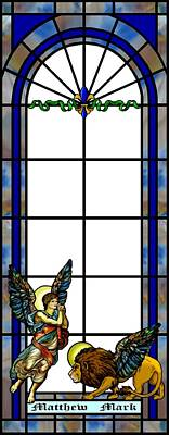 Mixed Media - Stained Glass   by Anthony Seeker