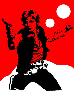 Star Wars Han Solo Collection Art Print