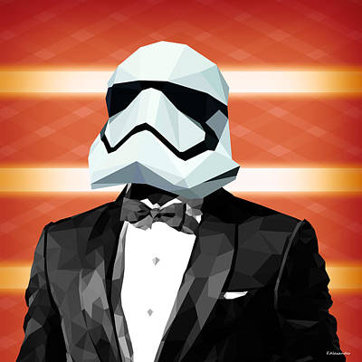 Han Digital Art - Star Wars Stormtrooper Collection by Gallini Design