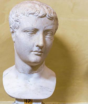 Photograph - Statue In Vatican Museum  by Marek Poplawski