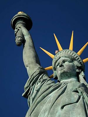 Painting - Statue Of Liberty by Celestial Images