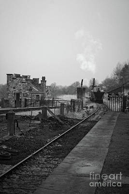 Photograph - Steam Train Art by Doc Braham