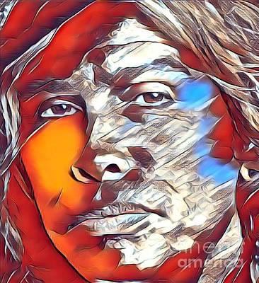 Mixed Media - Steven Tyler by Jeepee Aero