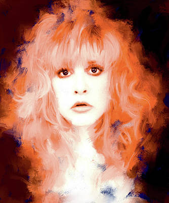 Stevie Nicks Painting - Stevie Nicks by Brian Tones