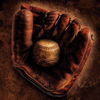 Baseball Royalty-Free and Rights-Managed Images - Still life by Bob Nardi