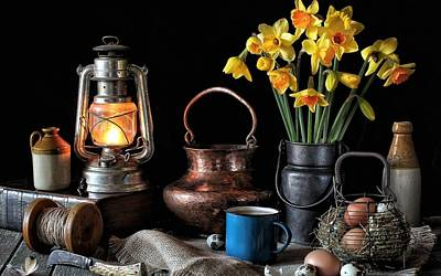 Still Life Digital Art - Still Life by Maye Loeser