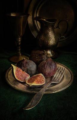 Still Life With Fresh Figs Art Print
