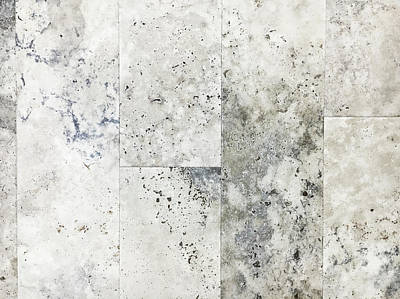 Marble Slabs Photograph - Stone Tiles by Tom Gowanlock