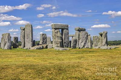 Megalith Photograph - Stonehenge by Patricia Hofmeester