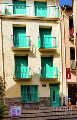 Photograph - 3 Story Architecture France  by Chuck Kuhn