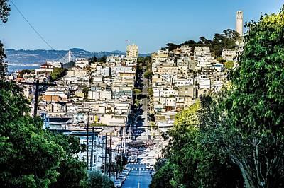 Sight Seeing San Francisco Photograph - Street Views And Scenes Around San Francisco California by Alex Grichenko