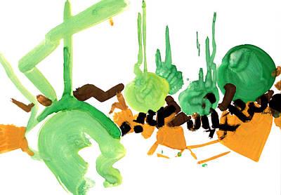 Stylish Art Print by Natoly Art