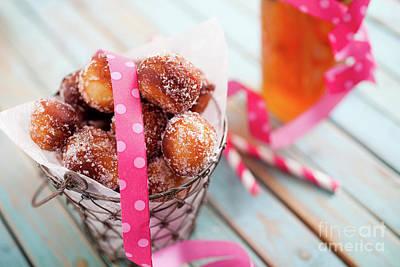Photograph - Sugar Donuts by Kati Finell