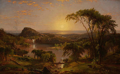 Summer Lake Ontario Art Print by Jasper Francis Cropsey