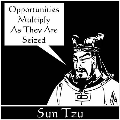 Ancient Culture Digital Art - Sun Tzu by War Is Hell Store
