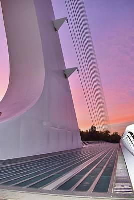 Sundial Bridge Art Print