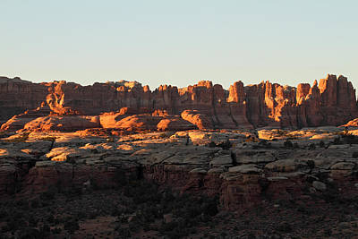 Photograph - Sunrise At The Needles In Canyonlands National Park by Pierre Leclerc Photography