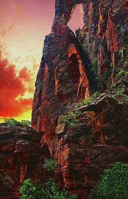 Sunrise In Canyonlands Art Print