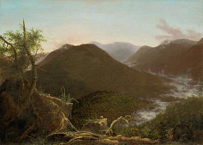 Photograph - Sunrise In The Catskills  by Thomas Cole