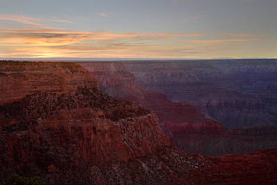 Photograph - Sunset At The Grand Canyon by Pierre Leclerc Photography