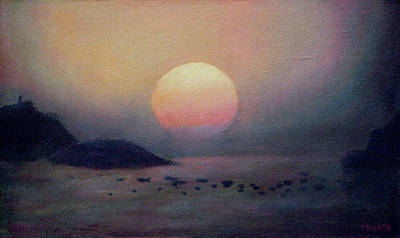 Painting - Sunset by Masami Iida