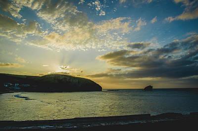 Photograph - Sunset Over Portreath by Edyta K Photography