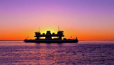 Elpaso Photograph - Sunset Silhouette by Subhadra Burugula
