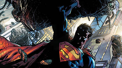 Digital Art Digital Art - Superman by Super Lovely