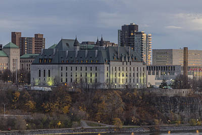 Photograph - Supreme Court Of Canada Building by Josef Pittner